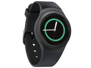 Samsung SM-R7200ZKAXAR Gear S2 Smartwatch, Bluetooth - Dark Gray