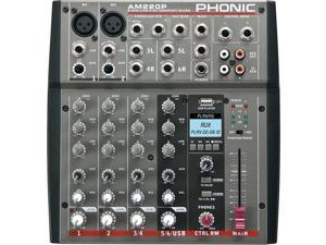 Phonic AM220P 2 Mic/line 2 Stereo Mixer