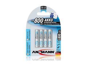 Ansmann 5035042 Ansmann Max E AAA 800 4-Pack Low Self Discharge