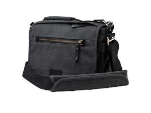 Tenba Cooper 8 Bag for Mirrorless Camera, Gray Canvas/Black Leather #637-401