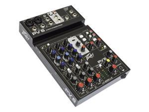Peavey PV 6 Compact USB Pro Audio Mixer #03612570