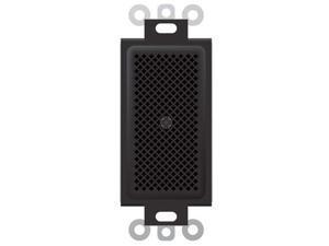 Rane RAD17 Wall Mount Omnidirectional Boundary Microphone, Black