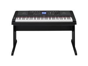Yamaha DGX-660 88 Keys Portable Grand Digital Piano, Black #DGX660B