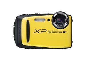 FUJIFILM XP90 16.4 MP Waterproof Digital Camera, Yellow