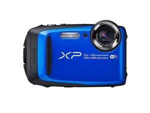 FUJIFILM XP90 16.4 MP Waterproof Digital Camera, Blue