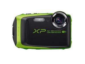 Fujifilm FinePix XP90 16.4 Megapixel Compact Camera - Lime