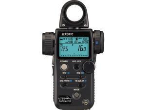 Sekonic L-758DR-U DigitalMaster Light Meter for PocketWizard System #401-756
