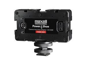 Maxell HSBM-12W 3-Way Power Shoe Adapter - BPUF Type Battery Mount #261401