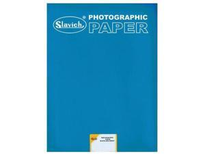 "Slavich Unibrom 160 BP Double Weight Smooth Matte Photo Paper, Grade 3, 5x7"", 25"
