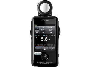 Sekonic LiteMaster Pro L-478DR Light Meter for PocketWizard System #401-477