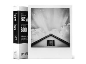 Impossible 600 B&W Film for Polaroid 600 Type Cameras & I-1 #4516