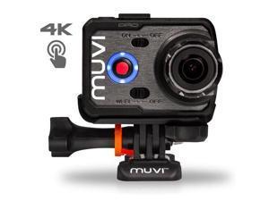 Veho VCC-007-K2PRO Muvi K-Series K-2 Pro 4K Wi-Fi Handsfree Action Camera / Camcorder with 12MP Camera, Protective ...