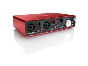 Focusrite Scarlett 2i4 2nd Gen 2 Input/4 Output USB 2.0 Audio Interface