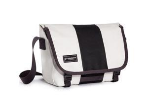 Timbuk2 Classic Messenger Bag, Cotton Canvas, Extra-Small, Heirloom White/Black