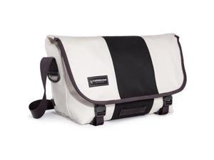 Timbuk2 Classic Messenger Bag, Cotton Canvas, Medium, Heirloom White/Black