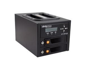 WiebeTech RTX220-QR 2 Bay Drive Enclosure, 4TB, Win #35220-2536-2200