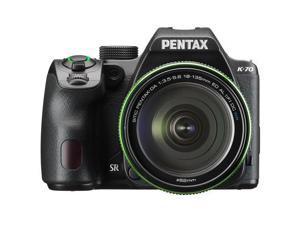 Pentax K-70 24MP Full HD Digital SLR Camera with 18-135mm Lens, Black #16256