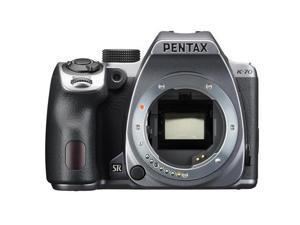 Pentax K-70 24MP Full HD Digital SLR Camera, Body Only, Silver #16981