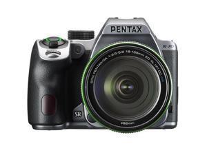 Pentax K-70 24MP Full HD Digital SLR Camera with 18-135mm Lens, Silver #16994