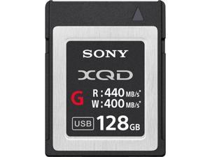 Sony G Series 128GB XQD Memory Card, 400MB/s Write Speed, 440MB/s Read Speed
