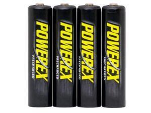 Maha Powerex MHRAAAP4 4-pack 1000mAh AAA Ni-MH Rechargeable Batteries