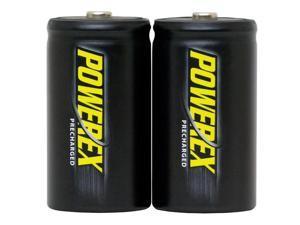 Maha Powerex MHRDP2 2-pack 10000mAh Size D Ni-MH Rechargeable Batteries