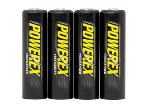 Maha Powerex MHRAAP4 4-pack 2600mAh AA Ni-MH Rechargeable Batteries