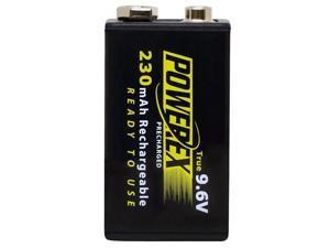 Maha Powerex MHR9VP 1-pack 230mAh 9V Ni-MH Rechargeable Batteries