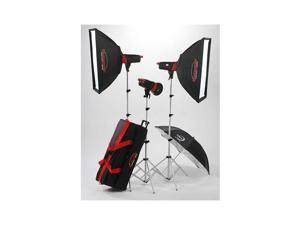 Photogenic Matrix MCD400R 400Ws Monolight 3-Light Kit #907006