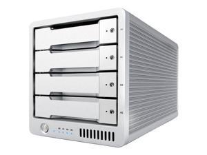 CalDigit T4 24TB (4x 6TB) Thunderbolt 2 External RAID Hard Drive #500332