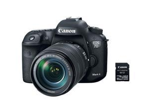 Canon EOS 7D Mark II DSLR Camera w/EF-S 18-135mm IS USM Lens & Wifi Adapter