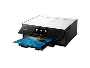 Canon PIXMA TS9020 Wireless All-in-One Printer, Print, Copy, Scan - White