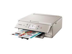 Canon PIXMA TS6020 Wireless All-in-One Printer, Print, Copy, Scan - Gray
