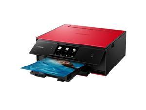 Canon PIXMA TS9020 Wireless All-in-One Printer, Print, Copy, Scan - Red