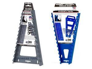 Hansen Universal Wrench Tray Set Organizer Rack Holder Metric SAE Sticker Labels