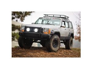 Rugged Ridge 11634.10 All Terrain Fender Flare Set&#59; Front And Rear&#59; Incl. Hardware&#59;