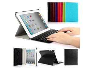 For iPad 2 3 4 Bluetooth keyboard + Slim Case smart cover