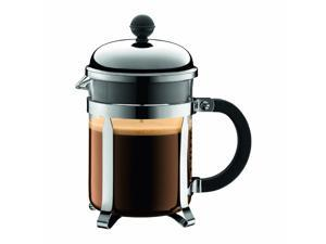 Bodum Chambord 4 cup French Press Coffee Maker, 17 oz, Chrome