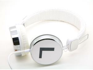 White Dj Over the Collapsible Head Earphone Headphones for Apple Ipod, Ipad, Nano, Sony Mp4, I9500 S4 Samsung, Nexus