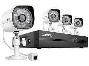 Zmodo ZM-SS714-1TB 4CH 720P NVR SYSTEM with 1TB HDD