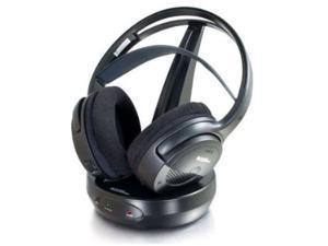 Audio Unlimited SPK-9100 Circumaural 900MHz Classic Wireless Stereo Headphone - Black