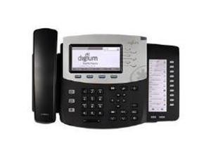 Digium Inc. Phone, D70 6-Line SIP with HD Voice, Backlit Display, International Version, Icon Keys