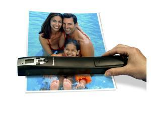 Pandigital S8X1101BK Handheld Wand Scanner 600dpi Color 2Gb SD Rechargeable Battery - Black