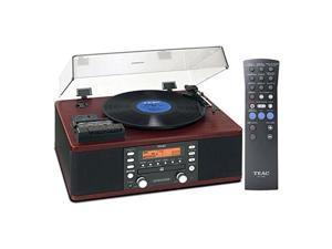 TEAC TEAC-LP-R550USB CD Recorder Cassette Turntable WALNUT