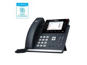 Skype for Business T46G IP desktop phone (Optima HD Voice) - Bundle Pack of 8