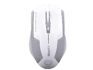 2400DPI Havit Magic Hawk X3 Wireless 6 Buttons Usb Optical Gaming PC Mouse Mice White