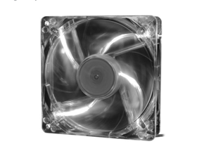 DEEPCOOL XFAN 120L/W Hydro Bearing Transparent Fan with White LED