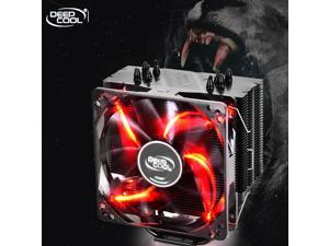 DEEPCOOL GAMMAXX 400 CPU Cooler 4 Heatpipes 120mm PWM Fan with Red LED - Elite Edition
