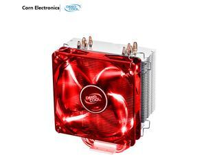DEEPCOOL GAMMAXX 400 CPU Cooler 4 Heatpipes 120mm PWM Fan with Red LED
