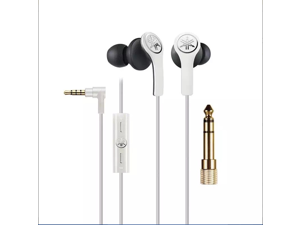 Yamaha White EPH-M200WH 3.5mm Connector Earphones w Remote Control
